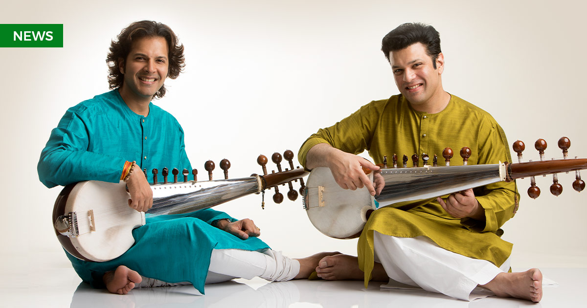 Sarod brothers, Amaan & Ayaan string along with the legendary rock guitarist Joe Walsh