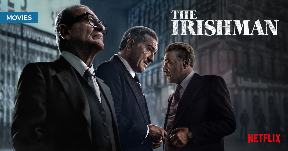 The Irishman: The formidable fellas are back and out painting houses